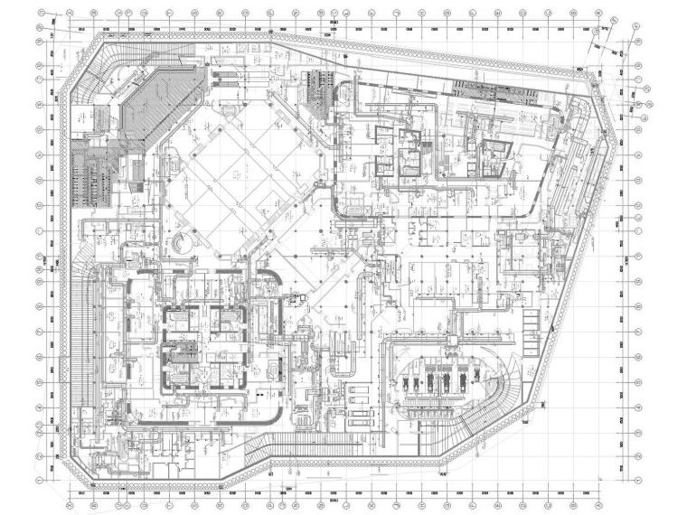 [天津]超高层办公酒店综合体暖通空调全系统设计施工图(632张)