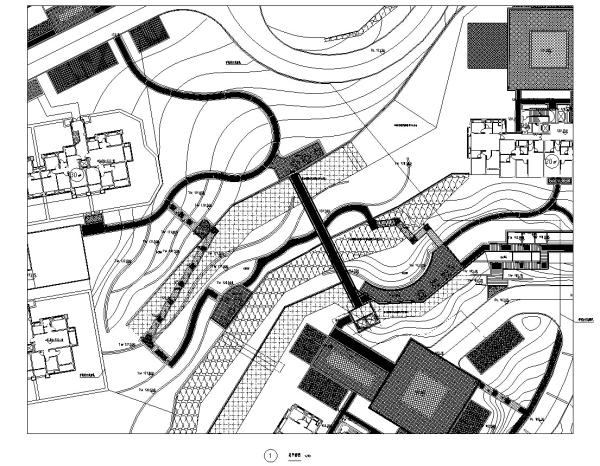 [福建]全能社区居住展示区总体景观设计施工图