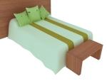 现代儿童床3D模型下载