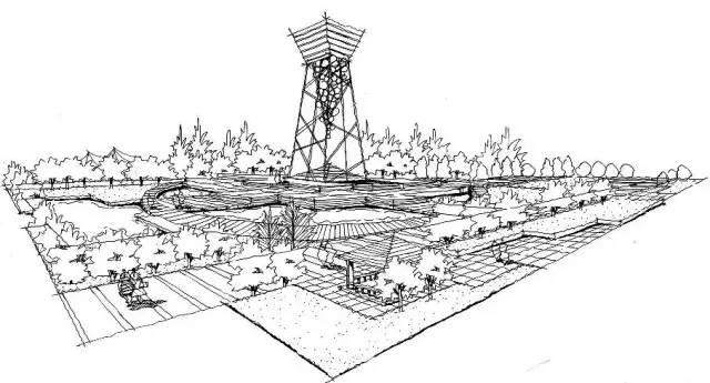 最全手绘临摹素材!-景观设计-筑龙园林景观论坛