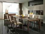 现代家居的木质家具