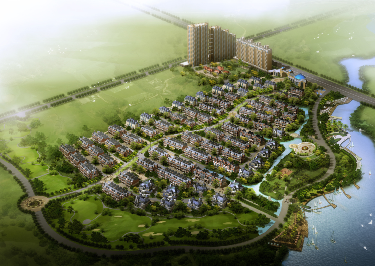 高层现代风格住宅建筑设计方案文本(国外设计公司)