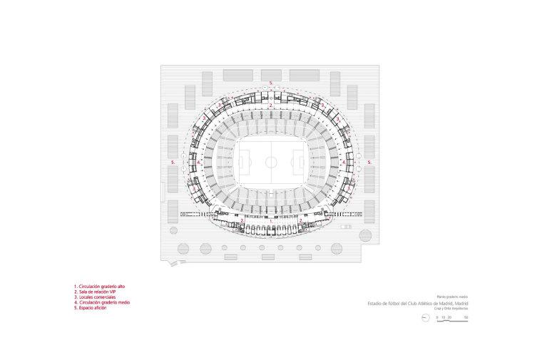Estadio-de-Fútbol-del-Atlético-de-Madrid_Design-plano_Cruz-y-Ortiz-Arquitectos_CYO_13-planta-graderio-medio