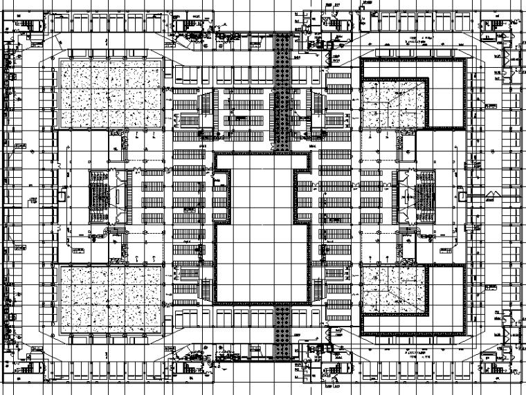 厦门大学翔安校区主楼群(1245#楼)暖通系统初步设计图纸