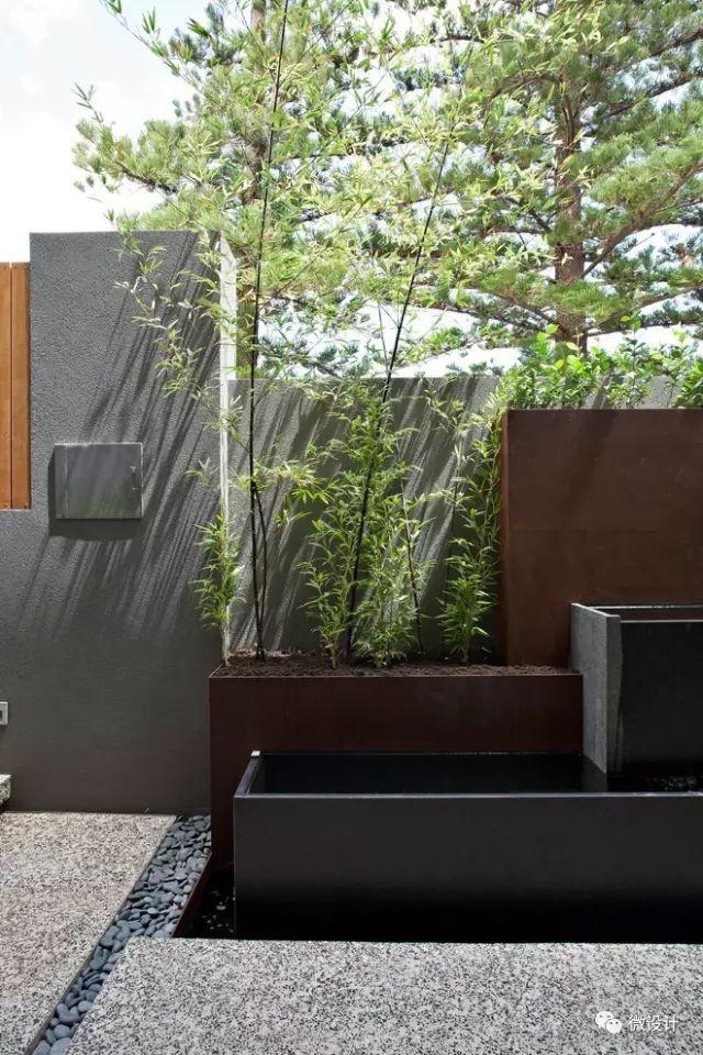 各式各样的庭院景观墙,美_36