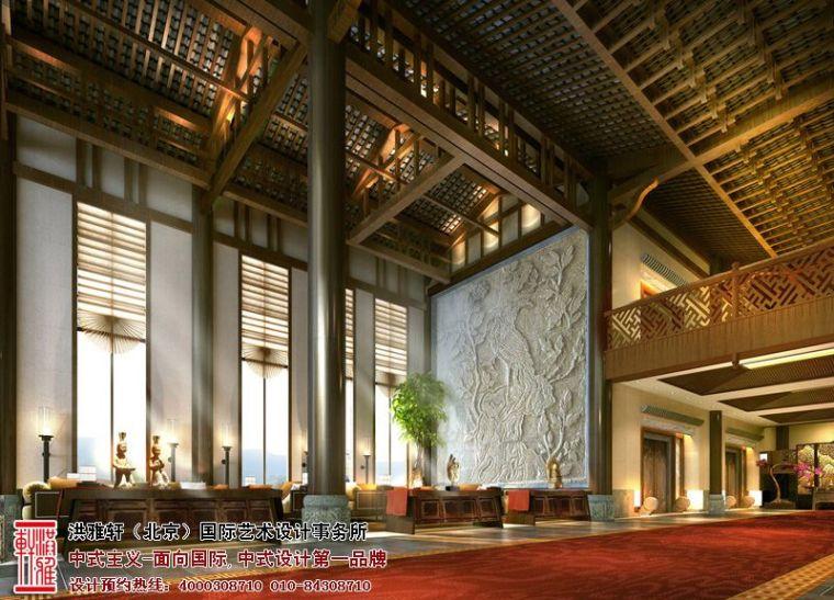 徐州古典中式酒店设计,体现舒适自在的休闲环境_4