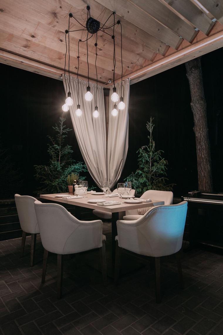 融于自然的基辅ToscanaGrill餐厅_14