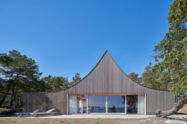 瑞典Krokholmen住宅