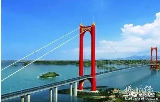 广西滨海公路龙门大桥方案欣赏