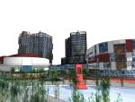 现代商业建筑SketchUp模型下载