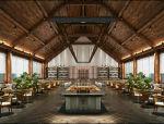 夏威夷风格木屋自助餐厅