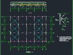 山河园艺馆桁架结构设计图