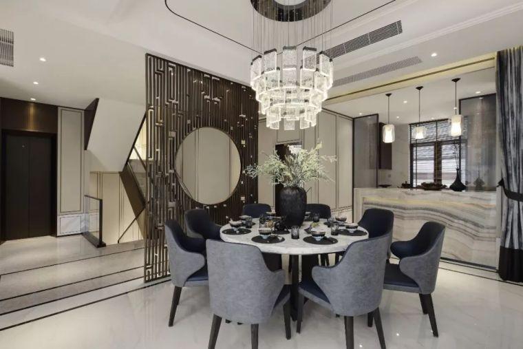 质朴材质也能构建空间气质,顶级别墅样板间设计_7