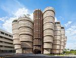酷似蜂巢的建筑物——南洋理工大学实验楼