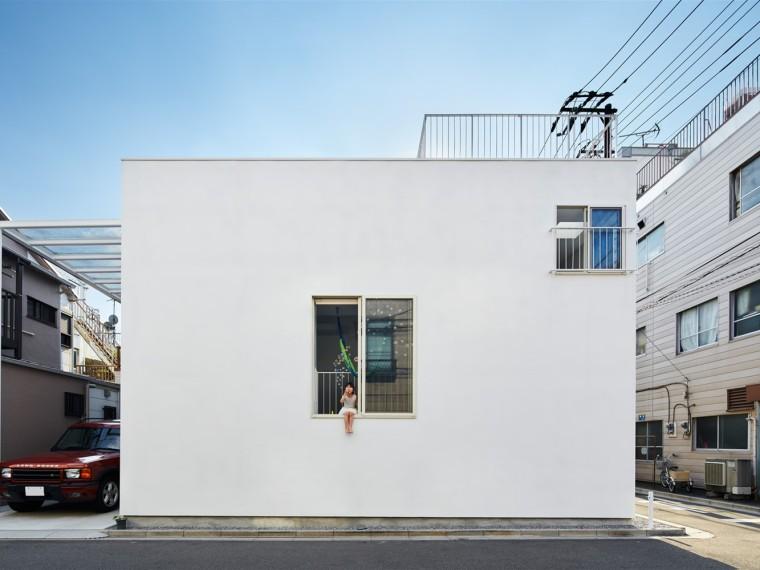 日本独立的阳台屋