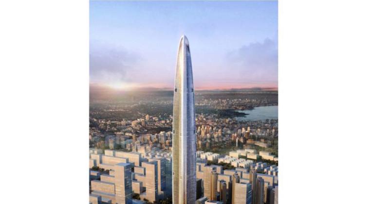 [武汉绿地中心项目]主楼地上F1-F120外框钢柱和钢梁施工方案(共221页,图文详细)
