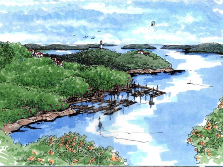 [贵州]兴义茶园项目概念规划设计(滨水,山地,茶园)