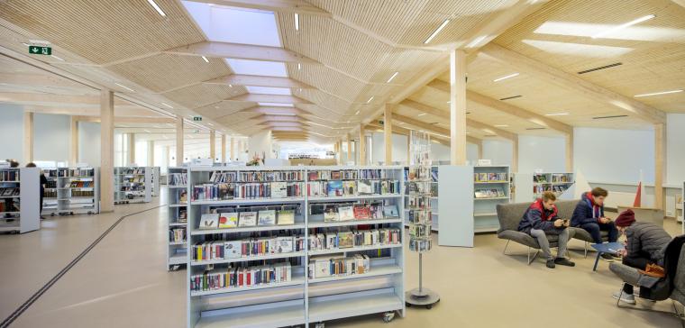 挪威格里姆斯塔德图书馆-15