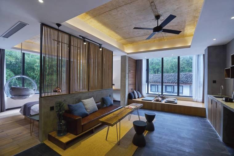 [武汉]HBA--花山碧桂园凤凰希尔顿酒店二期别墅SPA效果图+设计方案