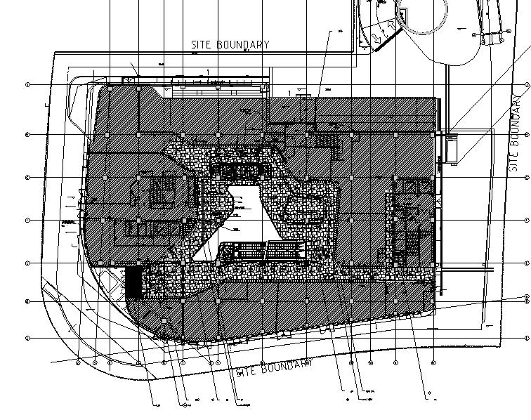 荷兰UNStudio商场中心设计施工图丨附效果图+机电设计+标识设计-地面图