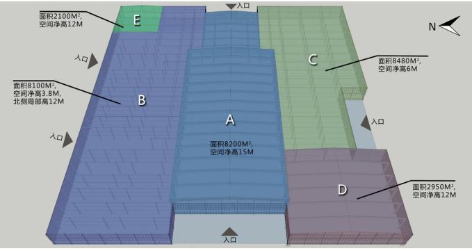 [北京]国际乡村民宿博览会策划方案(厂房改造,生态)B-1 博览会内部活动场地