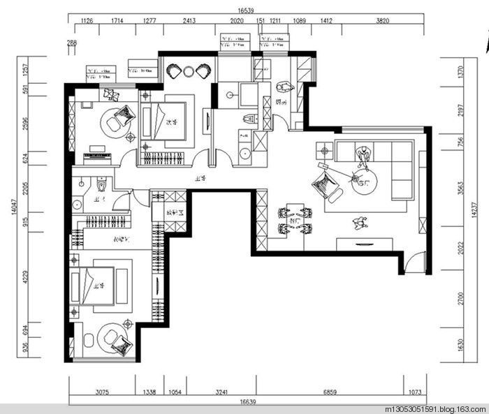 房屋建筑面积:127㎡装修风格:现代简约