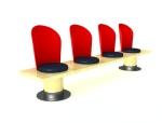 时尚休闲座椅3D模型下载