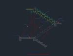 各种楼梯模版cad图