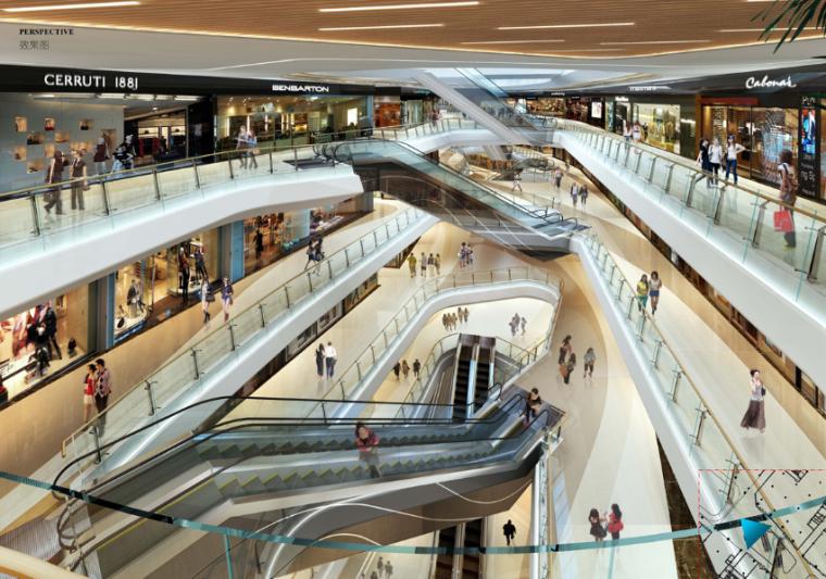 河源市商业购物中心室内设计方案文本