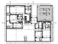 华润公寓样板间D户型设计施工图(附效果图+物料表)