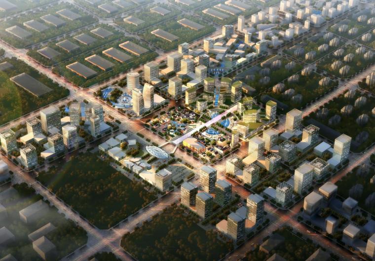 [北京]高端制造业基地总体概念规划建筑方案文本