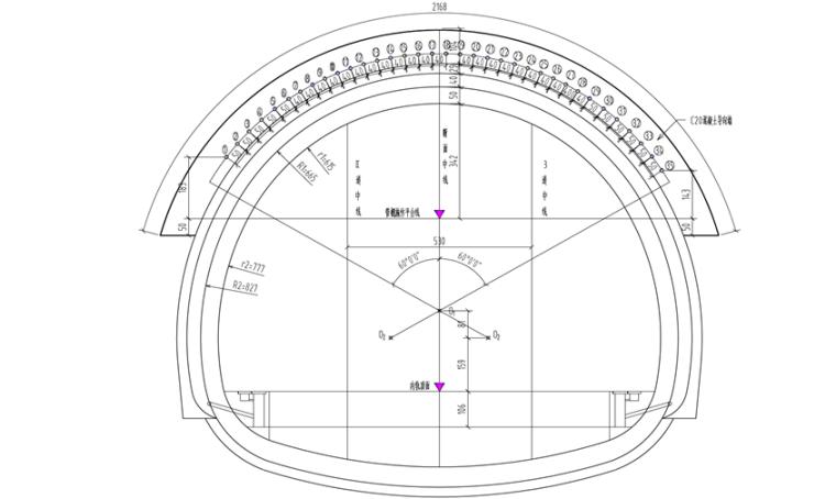 铁路线隧道洞口大管棚施工方案