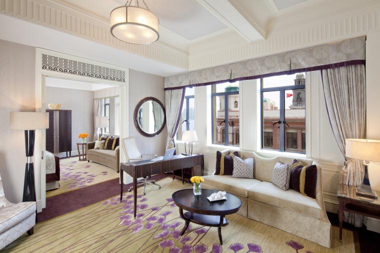 HBA--上海费尔蒙和平饭店概念设计方案文本