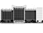 [海南]高层曲线温泉大酒店建筑施工图(效果图、SU及CAD图纸)
