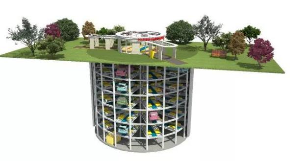 揭秘全国首个预制装配+沉井式地下机械停车库