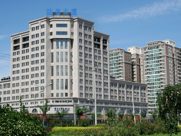 小高层框架剪力墙结构住宅楼工程量清单(含图纸)