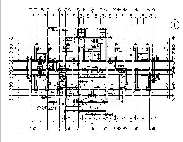 [河南]26层塔式住宅建筑施工图(16年全专业图纸)_7