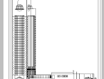 超详细7套宾馆酒店建筑设计施工图CAD