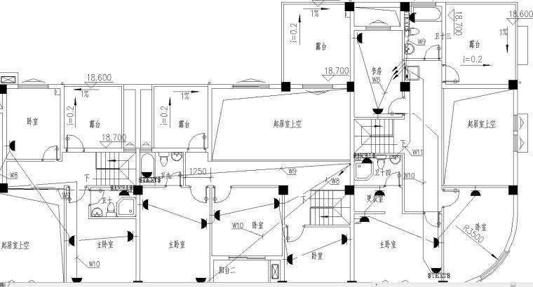 某商业街电气施工图