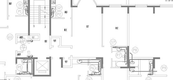 某高层民用住宅楼给排水全套设计图纸