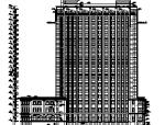 某高层框剪结构塔式酒店建筑全套图