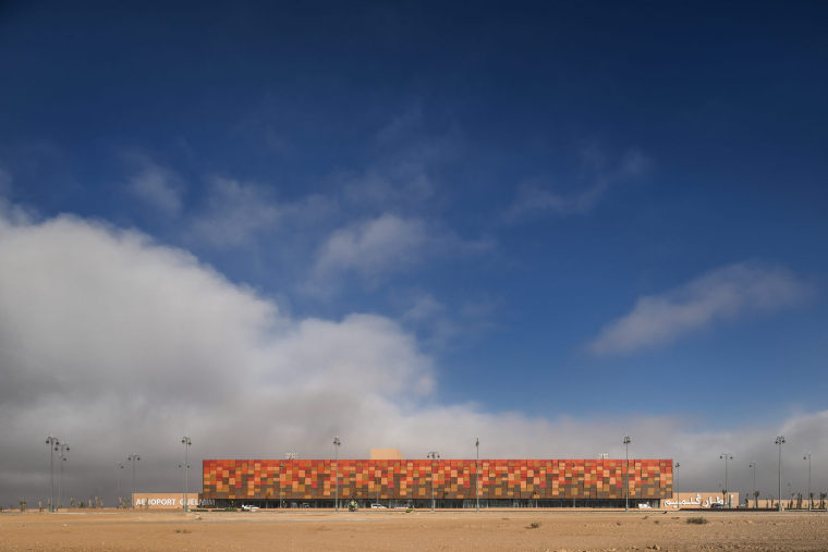 摩洛哥可拓展性盖勒敏机场外部实景图