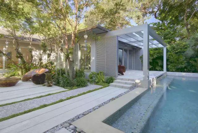 赶紧收藏!21个最美现代风格庭院设计案例_99