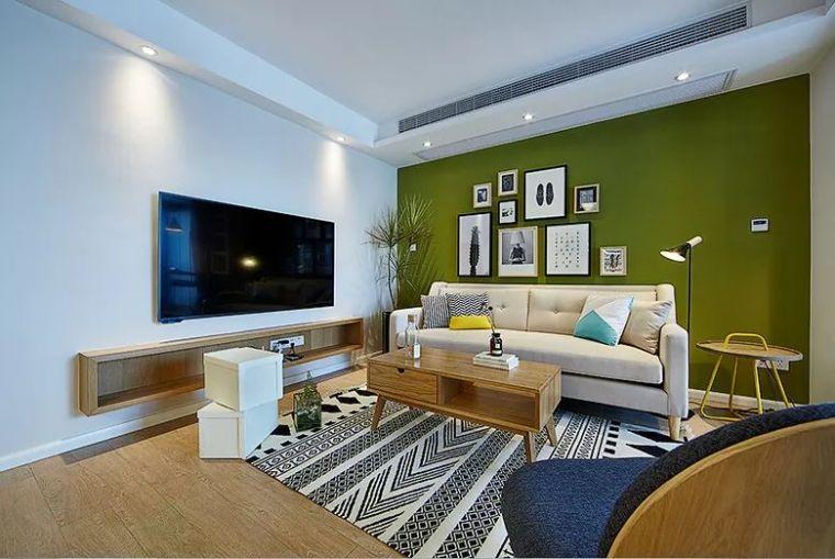 119㎡自然北欧,电视墙不对沙发墙,住得舒服才叫漂亮!