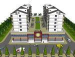 底商+住宅建筑设计模型