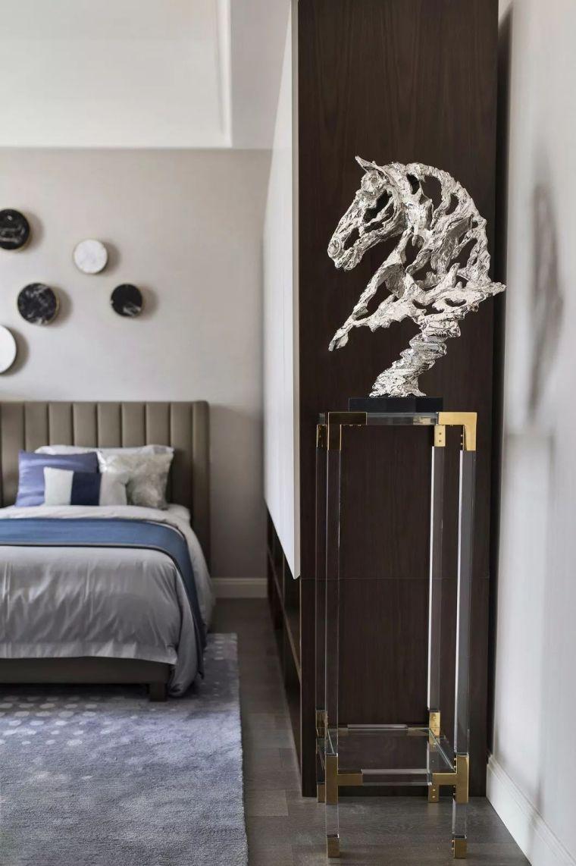 240㎡珍稀优雅豪宅软装设计,创造引领新都市的优质生活空间!_21