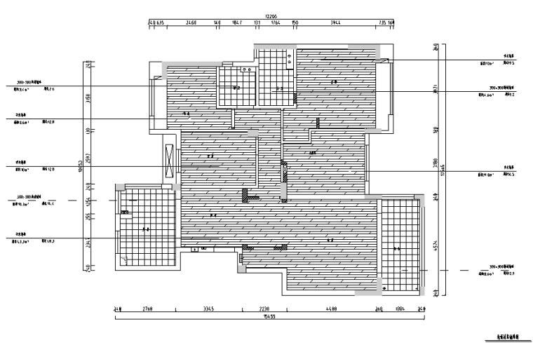 美式风格山湖间别墅设计施工图(附效果图)_2