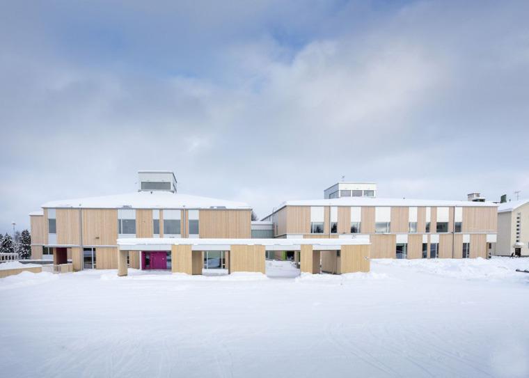芬兰Kuhmo木材学校-5