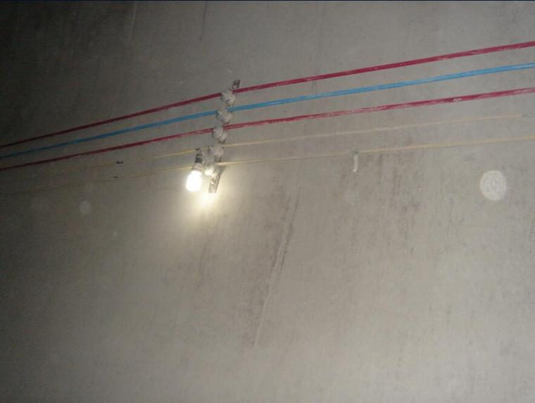 隧道施工安全作业基本知识培训PPT(142页,漫画形式)-照明