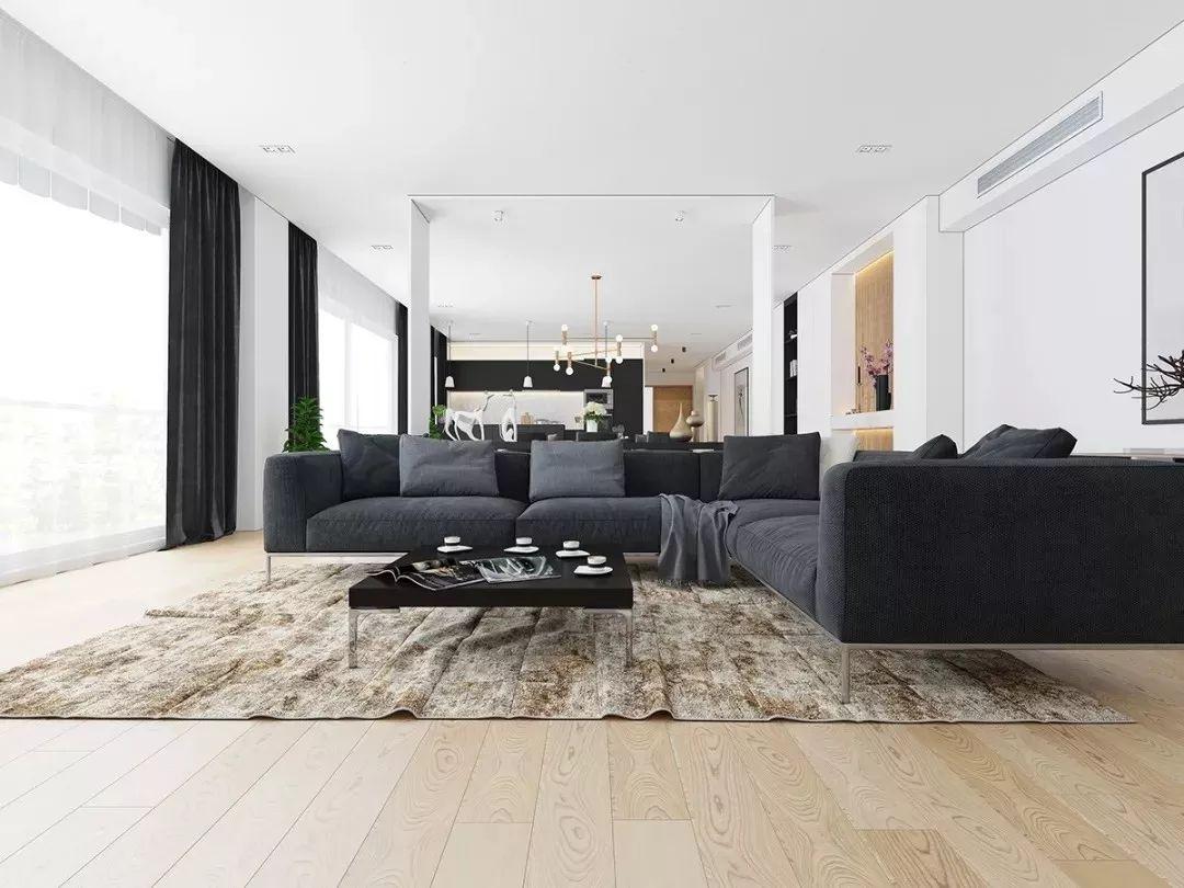 现在客厅都流行这么装,快扔掉你家笨重的大沙发吧!_5